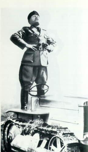 Mussolini Catepillar