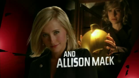 Allison Mack nella sigla di Smallville