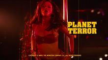 Immagine dai titoli di testa di Planet Terror