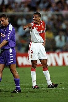 Trezeguet al Monaco nel 1998