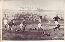 Milan-Legnano del 30 novembre 1930 (10ª giornata di andata), disputata all'Arena Civica e terminata 2-0 per i rossoneri