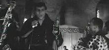 Adriano Celentano ne La dolce vita (1960) di Federico Fellini
