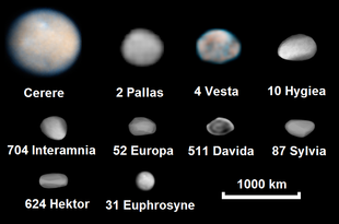 famous asteroids and comets - photo #21