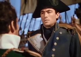 Gregory Peck in una scena del film