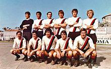 Il Sorrento della stagione 1970-1971, promosso per la prima volta nella sua storia in Serie B.