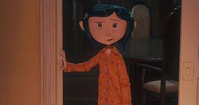 Coraline in una scena del film