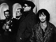 I Cantacronache, da sinistra a destra: Sergio Liberovici, Fausto Amodei, Michele Luciano Straniero e Margot