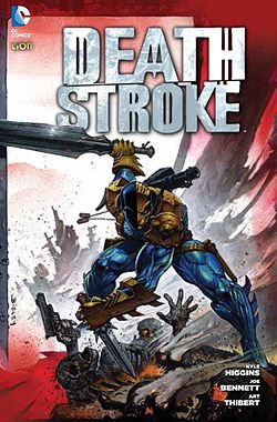 Deathstroke, illustrato da Simon Bisley