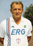Vujadin Boškov, allenatore della Samp dal 1986 al 1992.