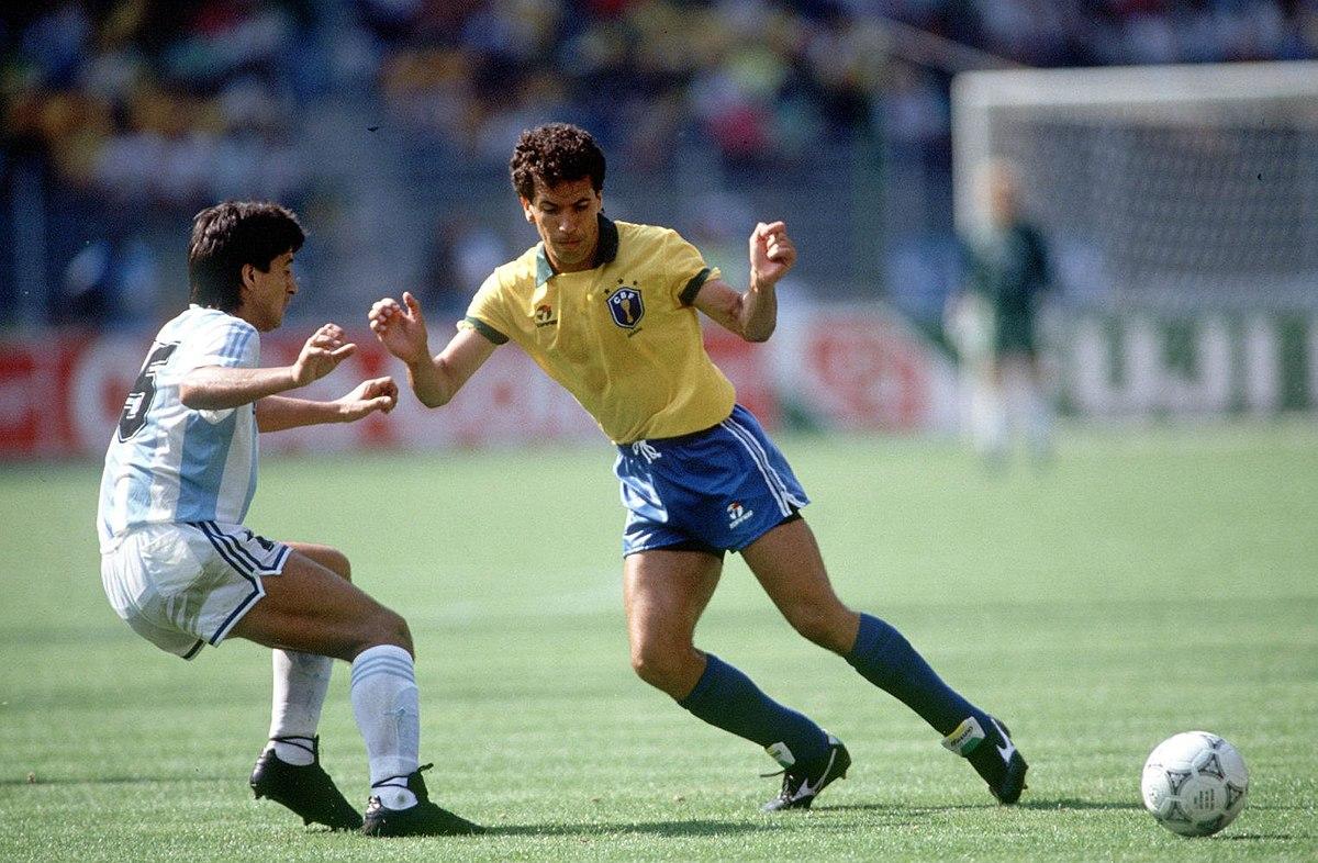 File:Brasile-Argentina 0-1, Mondiali 1990, Careca.jpg - Wikipedia