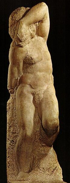 File:Michelangelo, schiavo giovane.jpg