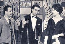 Enzo Tortora nel Carosello Durban's Adamo ed Eva 1959