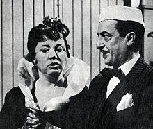 Con Anna Maestri in Agenzia matrimoniale RAI tv 1963
