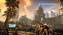 L'Unreal Engine 3 in Bulletstorm.