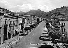 Via Roma nel 1960.