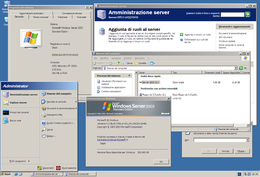 Il desktop di Windows Server 2003