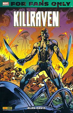 Killraven, disegnato da Alan Davis