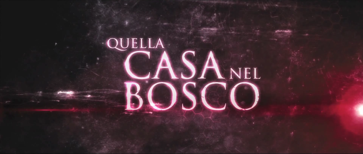 Quella casa nel bosco wikipedia for La cabina nel bosco 2 film completo