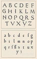 Stampa a caratteri mobili wikipedia for Design in stile romano