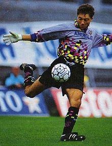 Sergio Marcon portiere della Fidelis dal 1991 al 1996