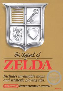 Confezione originale del primo Zelda per NES