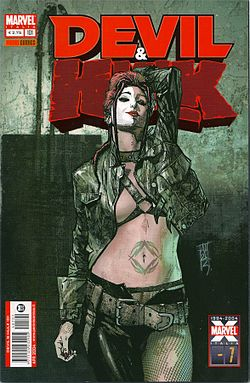 Typhoid Mary, disegnato da Alex Maleev