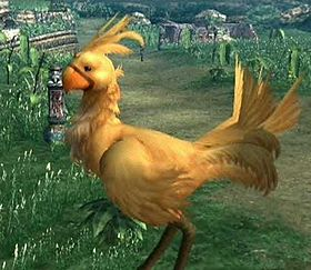 Un Chocobo in Final Fantasy X