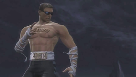 Johnny Cage in Mortal Kombat IX