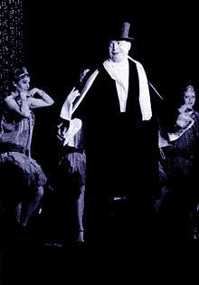 Carlo Dapporto nella commedia Carlo non farlo 1957