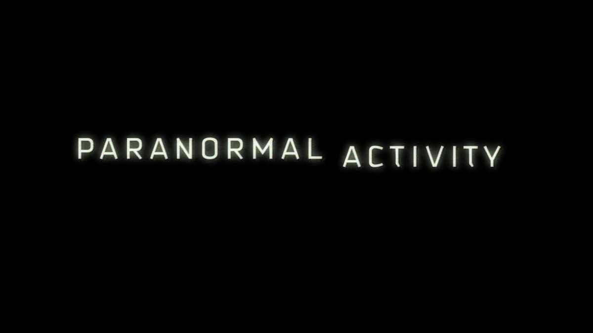 paranormal activity wikipedia