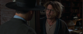Johnny Depp in una scena del film