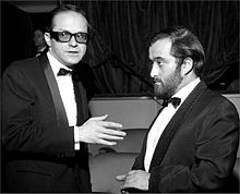 Lucio Dalla con Gino Paoli, negli anni sessanta
