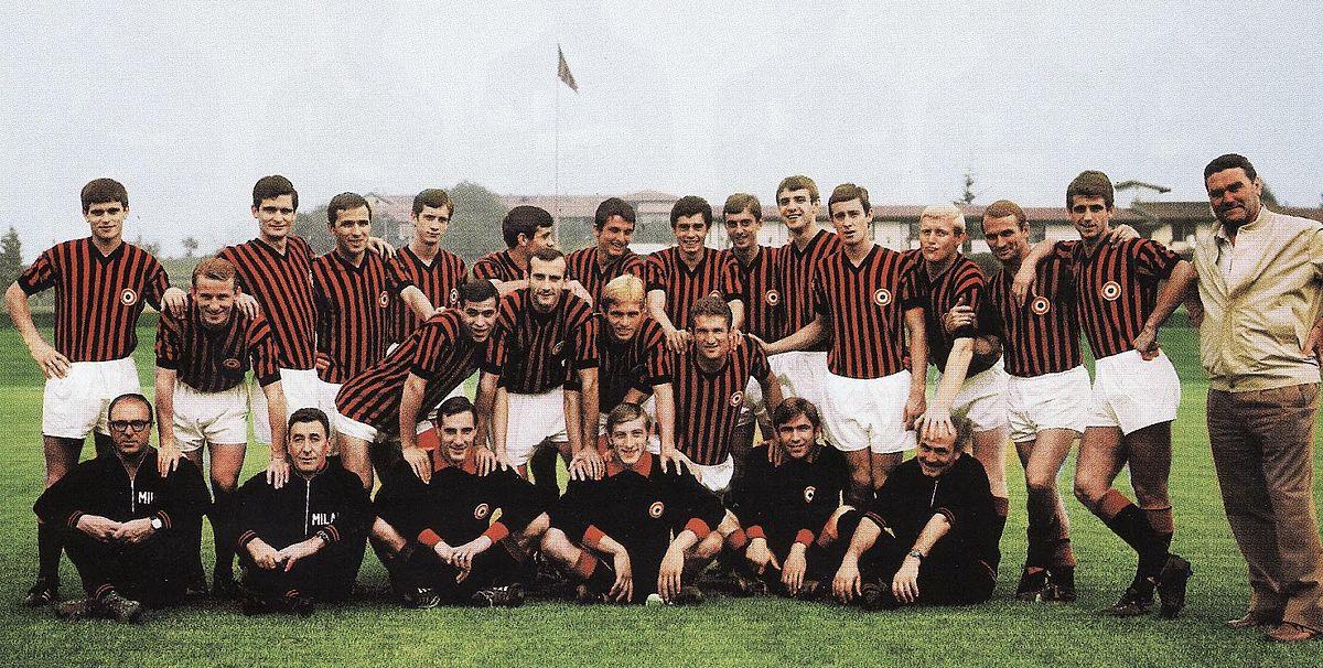 Milan associazione calcio 1967 1968 wikipedia for Rosa dei mobili torino