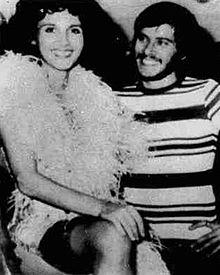 Paola Pitagora e Gianni Morandi nel 1973