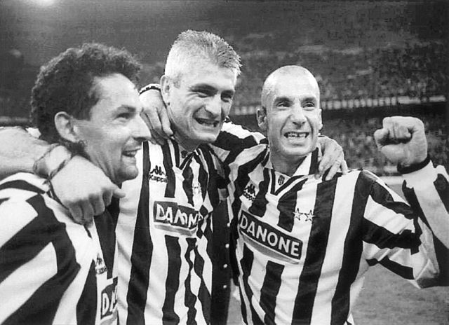 Vialli, Baggio e Ravanelli
