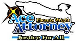Phoenix Wright- Ace Attorney - Justice for All logo.png