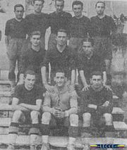 Il Lecce 1929-1930, che disputò la prima stagione in Serie B.