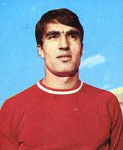 Anastasi al Varese nel 1967-1968, stagione della sua affermazione ad alti livelli.
