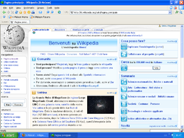 Screenshot K-Meleon 1.1.4
