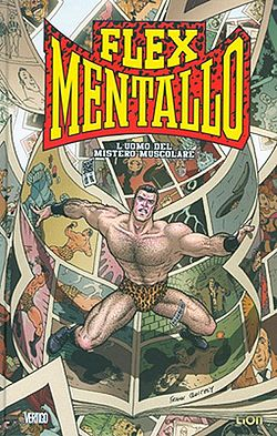 Flex Mentallo, disegnato da Frank Quitely