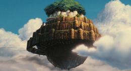 Una scena di Laputa - Castello nel cielo