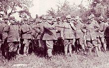 Generale Luigi Capello durante la Grande guerra.