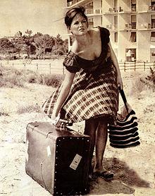 Nel film La ragazza con la valigia
