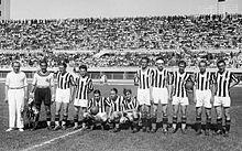 La Juventus di Carlo Carcano della stagione 1933-34, al quarto scudetto del Quinquennio d'oro