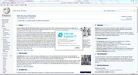 Screenshot di Internet Explorer 11
