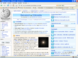 Screenshot di Mozilla Firefox 2