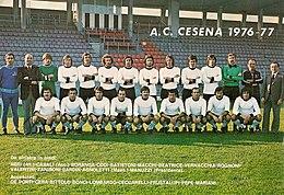 Associazione Calcio Cesena 1976-1977 - Wikipedia