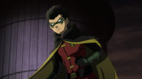 Damian Wayne nei panni di Robin nel film animato Son of Batman