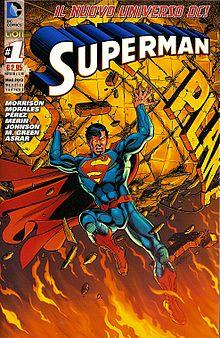 Superman n. 1, edizioni RW-Lion (copertina variant di George Pérez, maggio 2012)