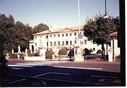 Villa Margherita a Treviso, sede del comando della Divisione meccanizzata
